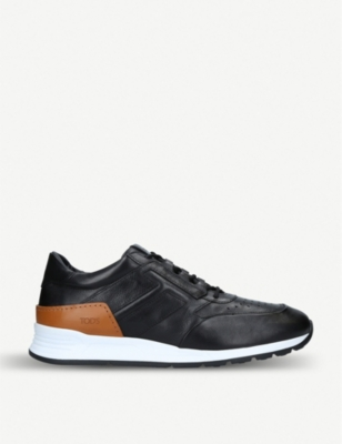 TODS Sportivo lux runner leather trainers