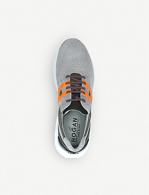 HOGAN Active One suede trainers