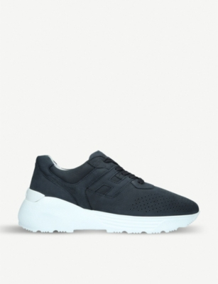 HOGAN Interactive suede trainers
