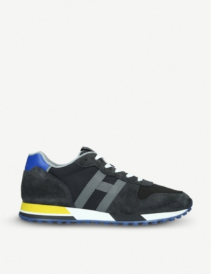 HOGAN H383 suede trainers