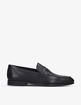 TODS: Gomma leather loafers