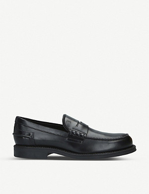 TODS Leather penny loafers
