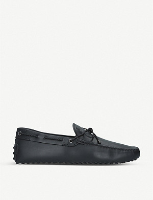 TODS Scooby Doo leather driving loafers