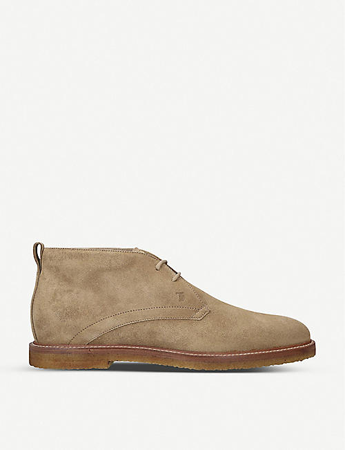 TODS Polacco suede desert boots