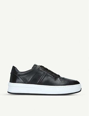 TODS Cassetta T leather trainers