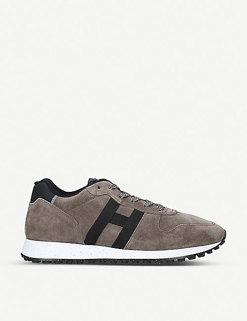HOGAN 383 suede trainers