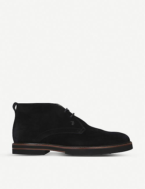 TODS Suede chukka boots
