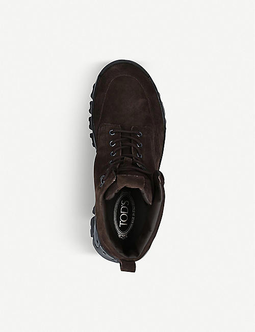 TODS Mountain suede hiking boots