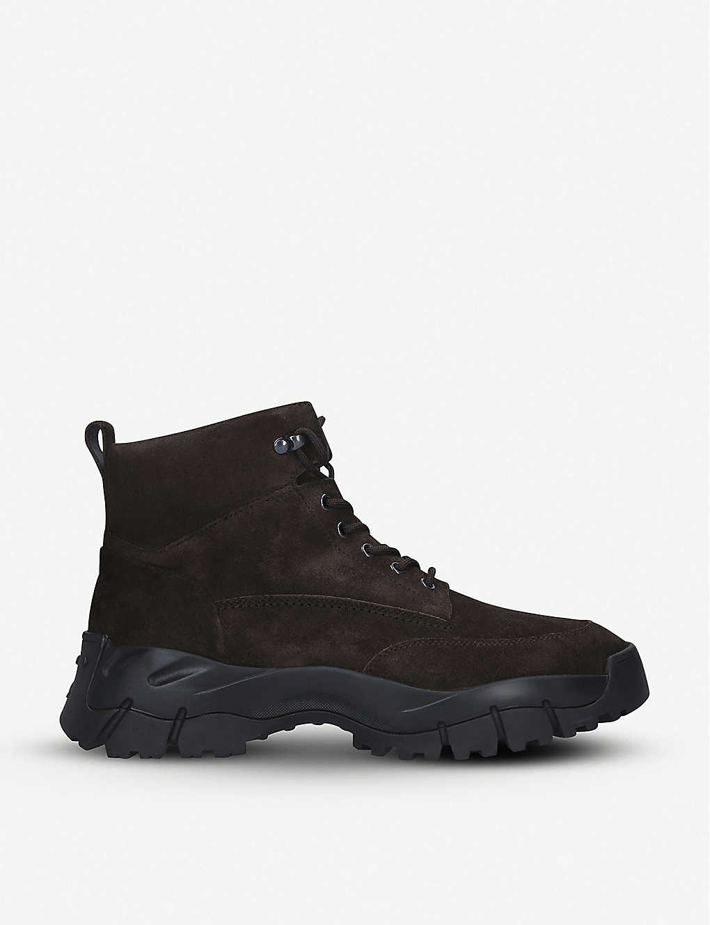TODS: Mountain suede hiking boots