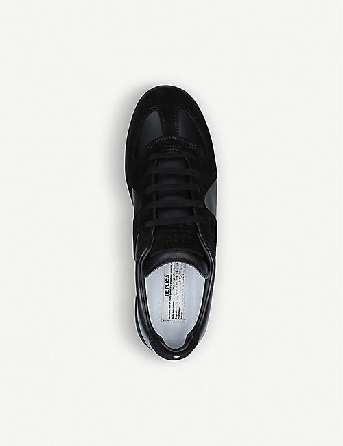 MAISON MARGIELA Replica leather trainers