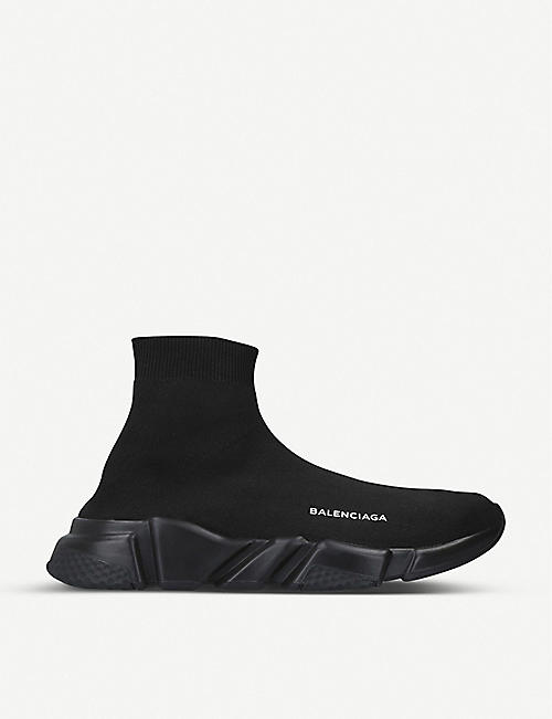BALENCIAGA Mens Speed 弹力针织运动鞋