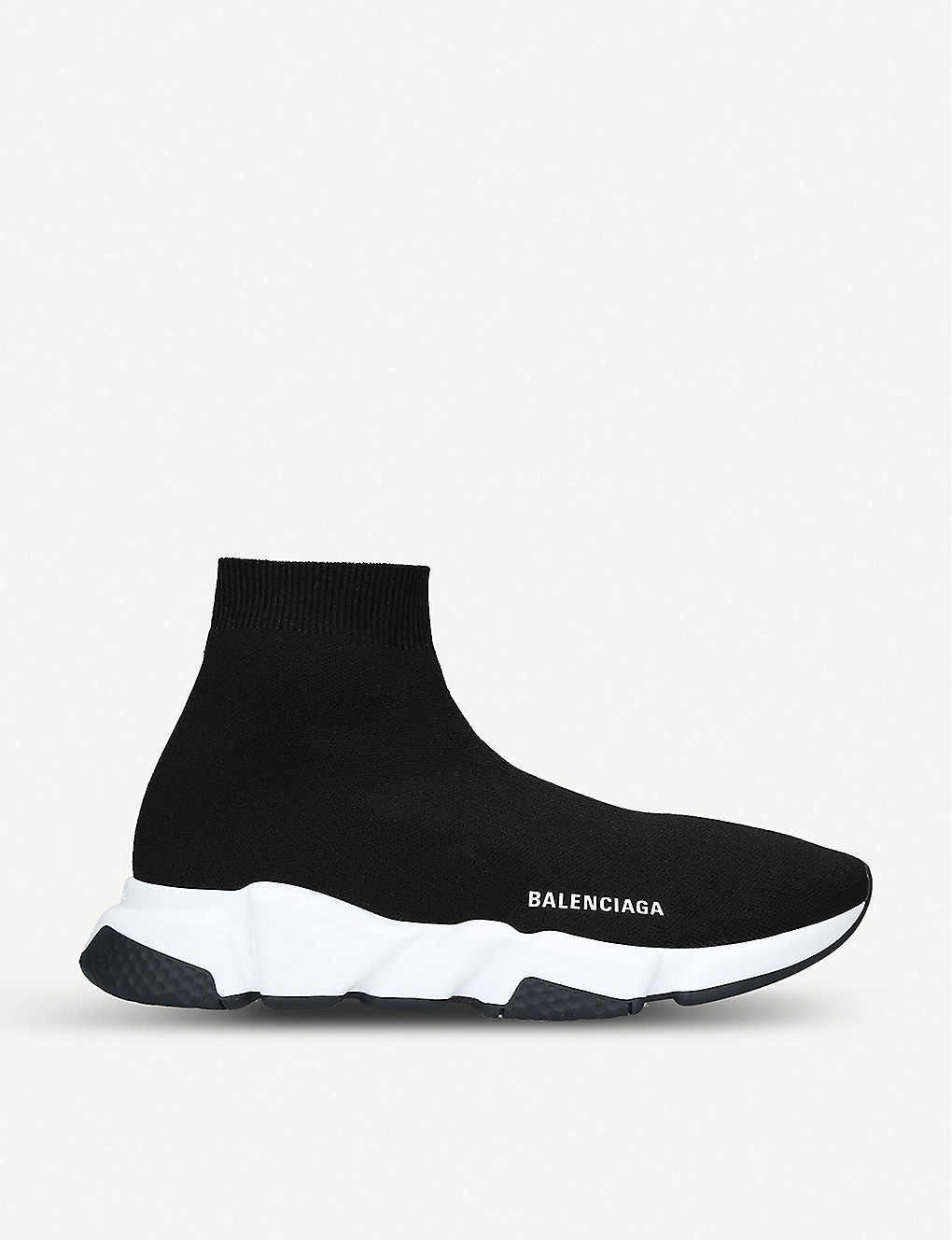Balenciaga Speed Trainer Grey 'bb' Sneakers in Gray Save