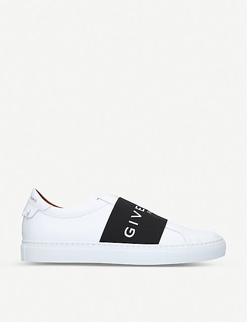 a5c46b18da7a GIVENCHY Knot elastic leather trainers