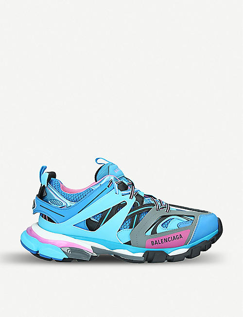 5f8841862097 BALENCIAGA Track nylon and mesh trainers