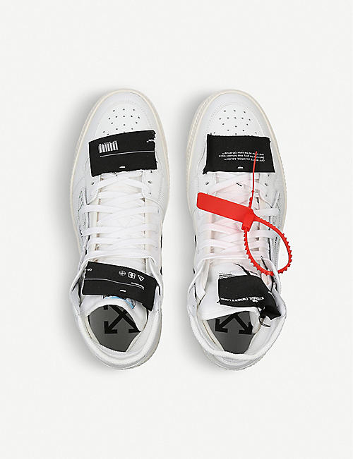 OFF-WHITE C/O VIRGIL ABLOH Off-court leather trainers