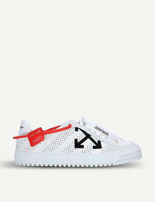 OFF-WHITE C O VIRGIL ABLOH Polo 3.0 leather trainers c337e0249