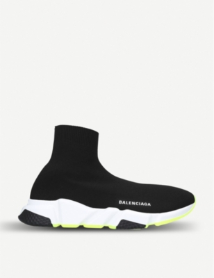 BALENCIAGA Speed contrast stretch-knit trainers