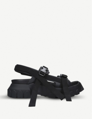 RICK OWENS Tractor leather sandals