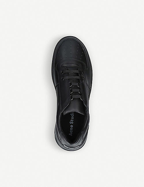 ACNE STUDIOS Perey lace-up leather trainers