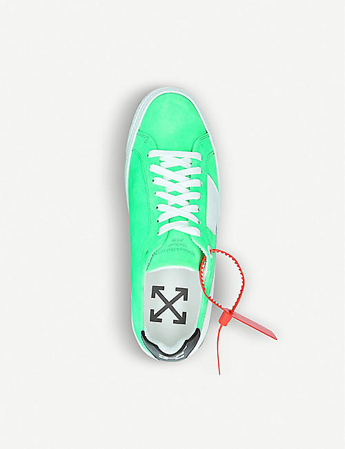 OFF-WHITE C/O VIRGIL ABLOH Arrow suede trainers