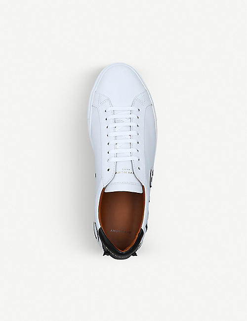 GIVENCHY Knot logo leather trainers