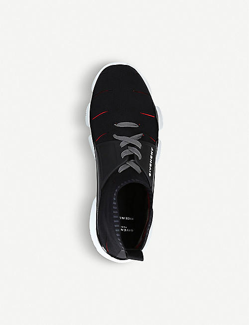 GIVENCHY Jaws stretch-knit trainers