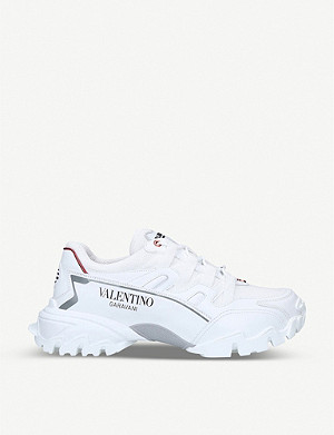 VALENTINO Climbers leather trainers