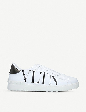 VALENTINO VLTN Rockstud leather trainers