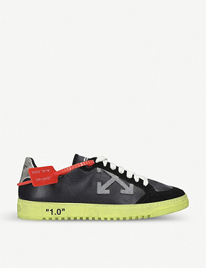 OFF-WHITE C/O VIRGIL ABLOH 2.0 Low leather and suede trainers