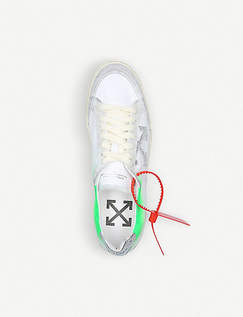 OFF-WHITE C/O VIRGIL ABLOH 1.0 低帮  皮革  运动鞋