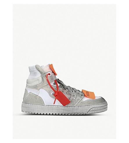 Off-White Tops Off-court leather high top trainers