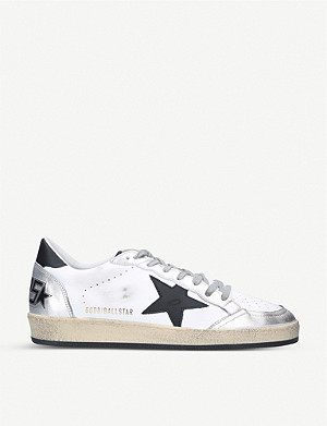 GOLDEN GOOSE Ballstar leather trainers