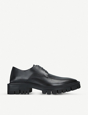 BALENCIAGA Outdoor Rim leather Derby boots