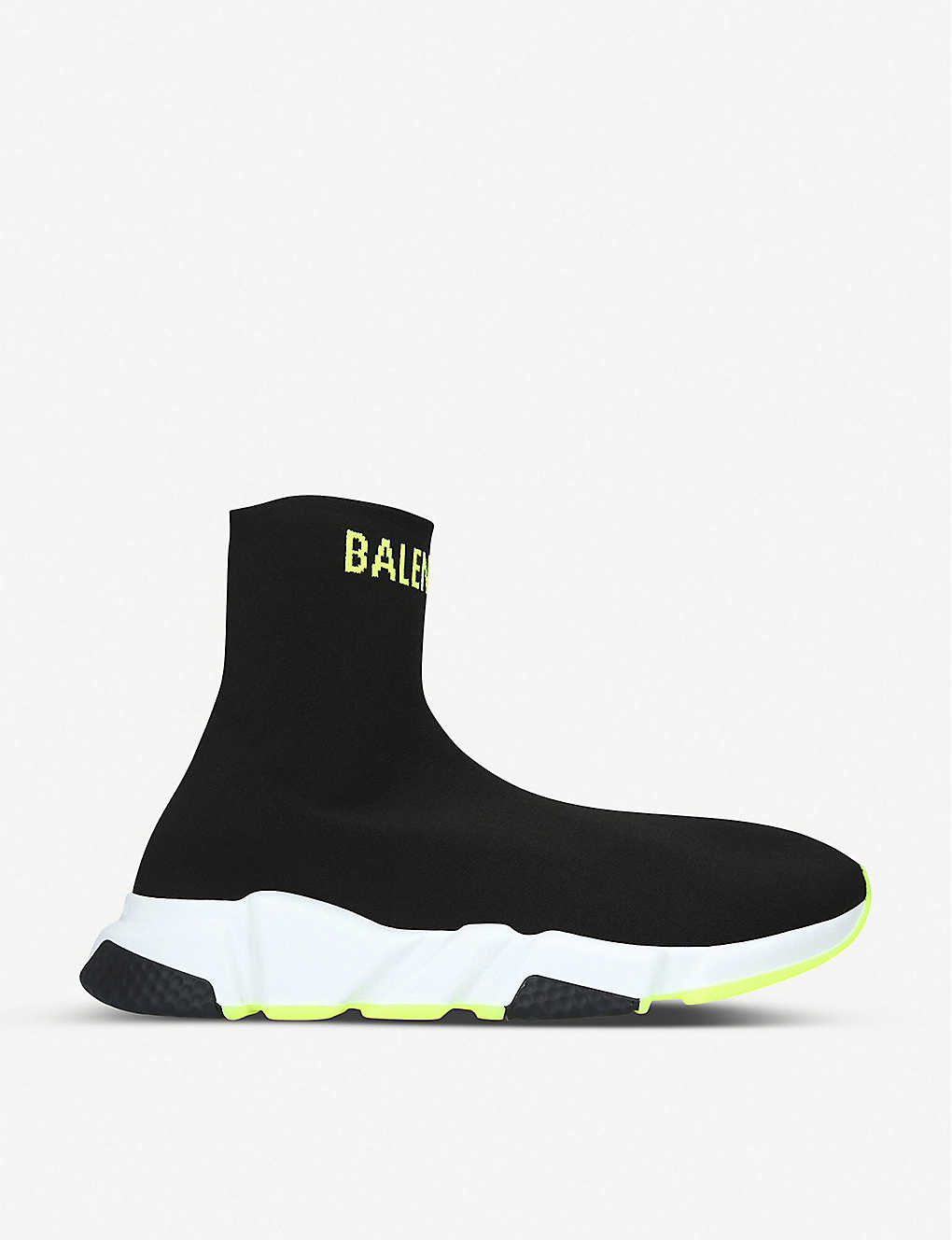 BALENCIAGA: Speed knitted high-top trainers