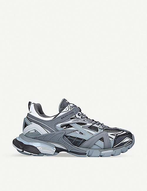 BALENCIAGA Track.2 nylon and mesh trainers
