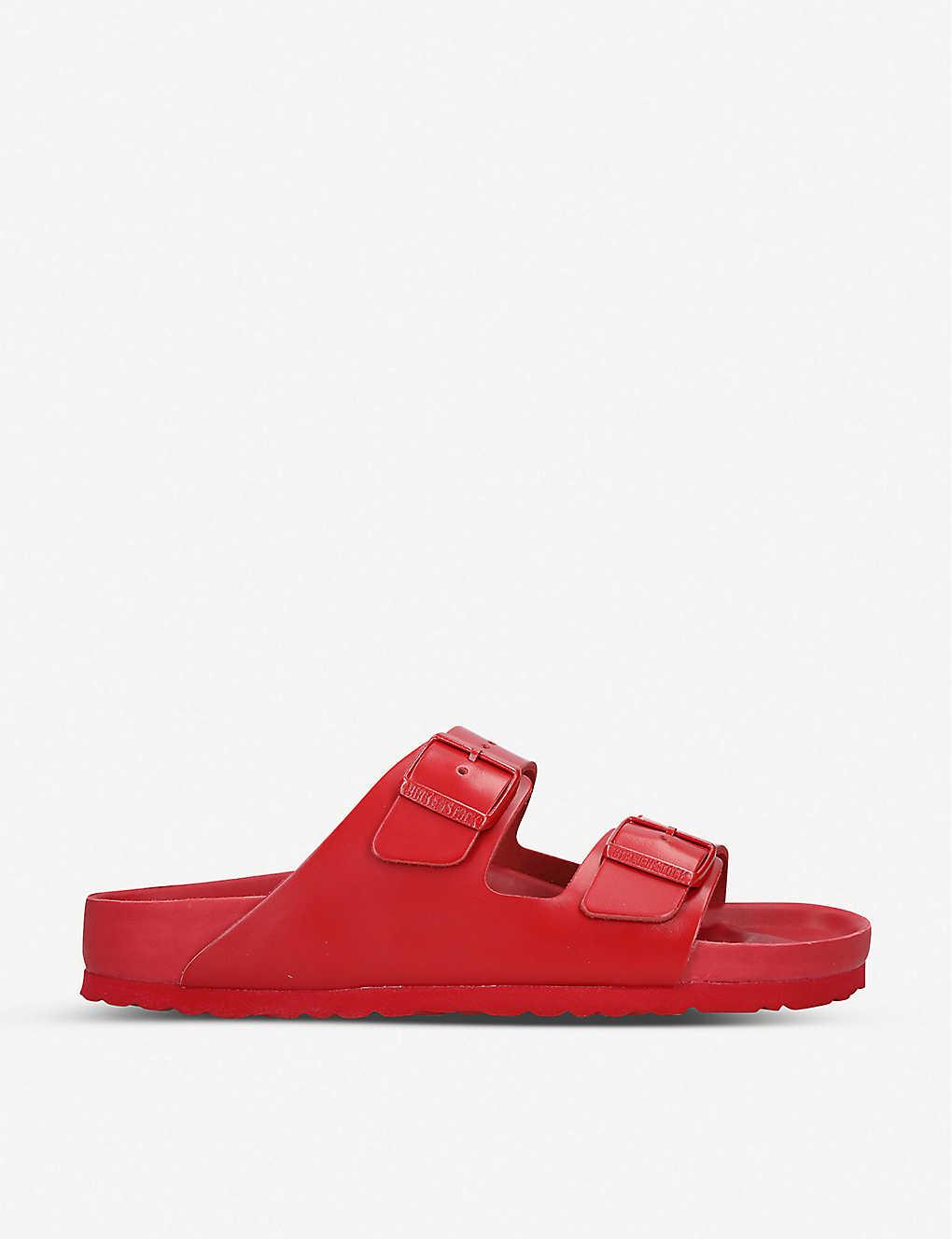 Valentino Slippers Valentino x Birkenstock leather sliders