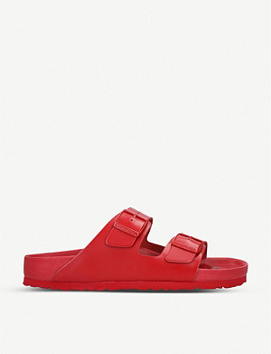 VALENTINO Valentino x Birkenstock leather sliders