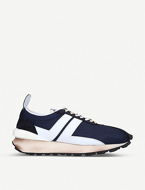 LANVIN: Bumper mesh low-top trainers