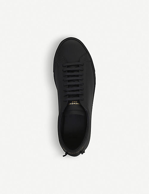 GIVENCHY Knot leather trainers