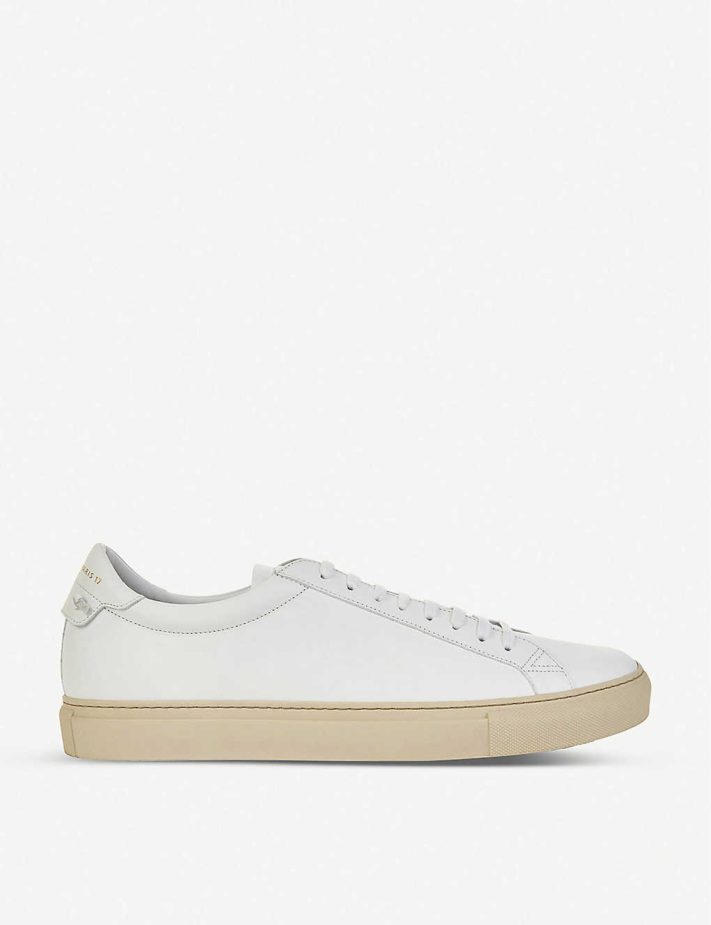 GIVENCHY: Knot leather lace-up trainers