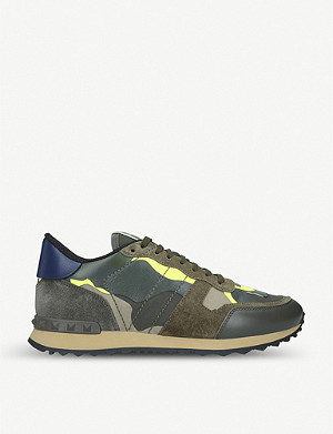 VALENTINO Full Leather leather trainers