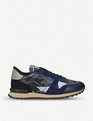 VALENTINO GARAVANI: Full Leather leather trainers