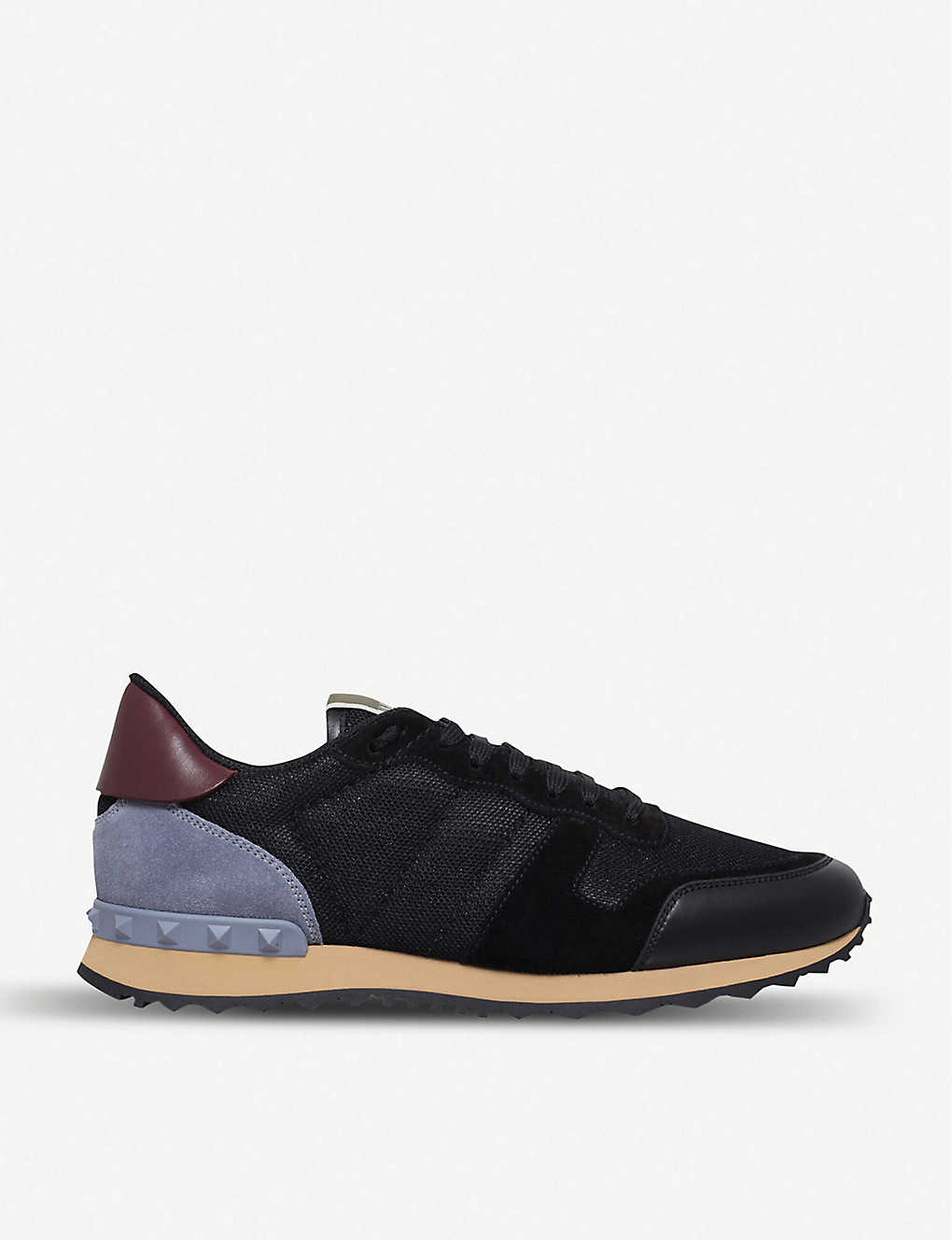 c455ae838bac VALENTINO - Garavani Rockrunner leather