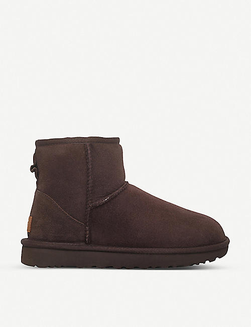UGG: Classic Mini sheepskin boots