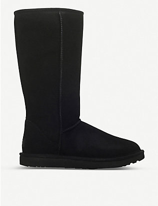 UGG: Classic ll Tall sheepskin and suede boots