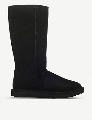 UGG Classic ll Tall sheepskin and suede boots