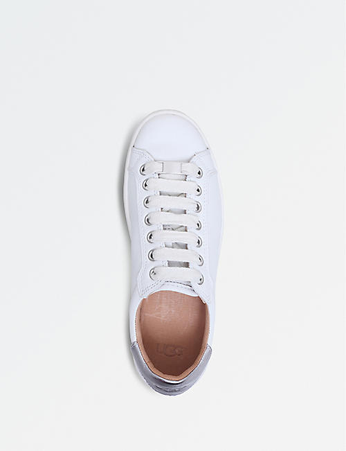 UGG Milo leather trainers