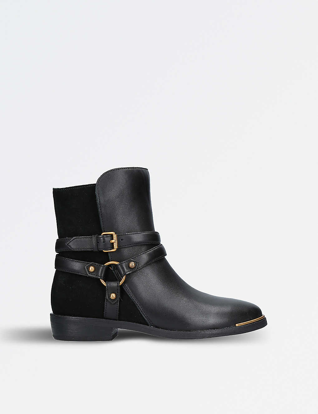 6fa4bf6c974 UGG - Kelby leather and suede ankle boots | Selfridges.com