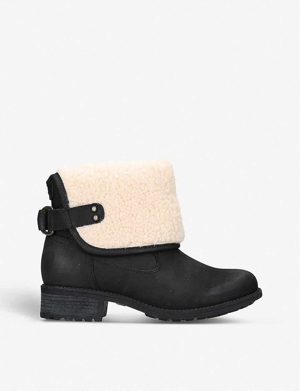 UGG: Aldon wool and leather boots