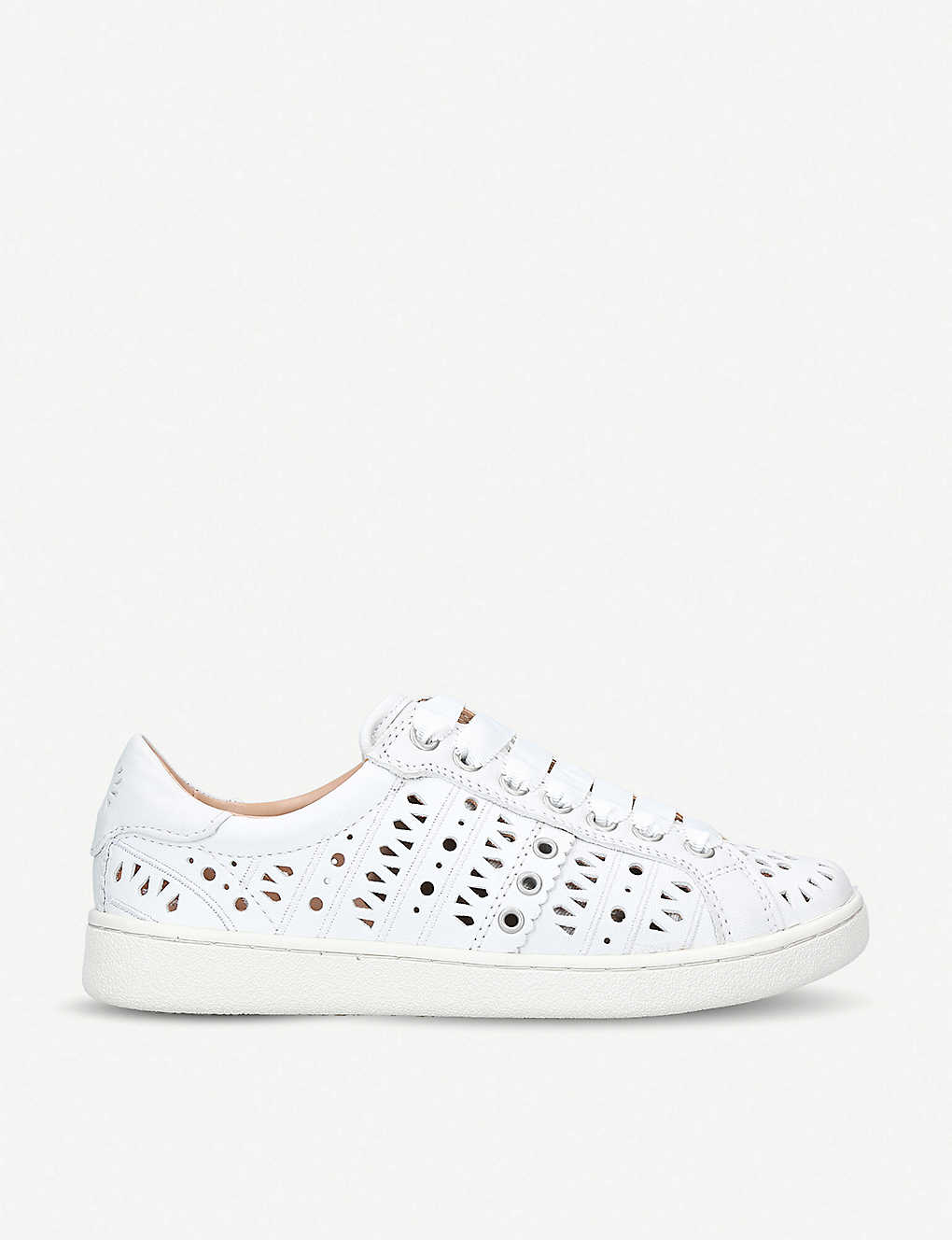 a1df80c696b UGG - Milo perforated leather trainers   Selfridges.com
